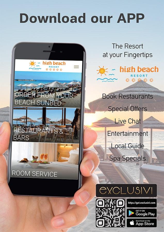 High Beach Resort App